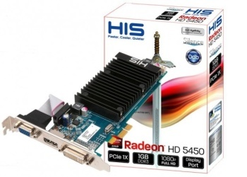 HIS Radeon ™ 5450 1GB HIS Silence (64) DDR3