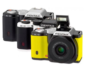 Разнообразие дизайна Pentax K-01